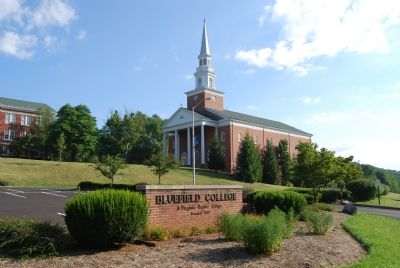 Chapel on Bluefield College campus image. Click for full size.