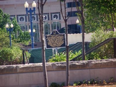 1907 Indiana Eugenics Law Marker image. Click for full size.