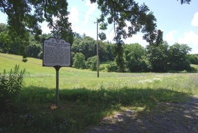 Marker along US 220 image. Click for full size.