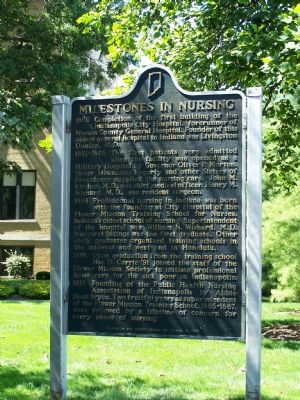 Milestones in Nursing Marker image. Click for full size.