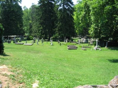 Cemetery Behind the Capel image. Click for full size.