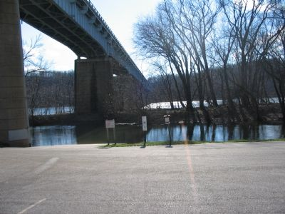 Modern Day Bridge at Brunswick image. Click for full size.