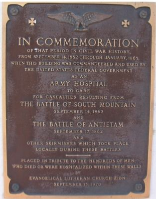 In Commemoration Marker image. Click for full size.