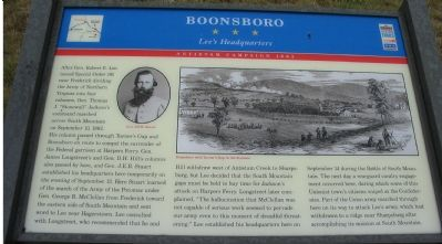 Boonsboro Marker image. Click for full size.