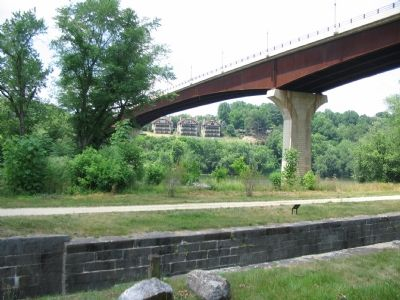 The Bridge Seen from the Chesapeake and Ohio Canal Trail image. Click for full size.