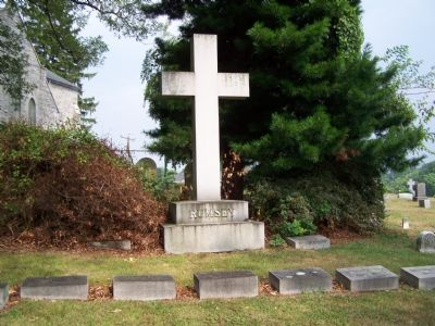 Rumsey Family Grave Marker image. Click for full size.