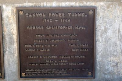 Canyon Power Tunnel image. Click for full size.