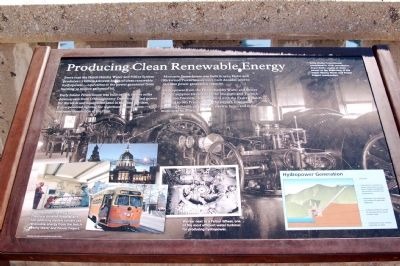 Producing Clean Renewable Energy image. Click for full size.