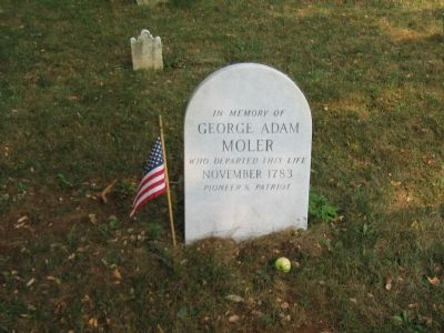 Grave Site of George Adam Moler, Sr. image. Click for full size.