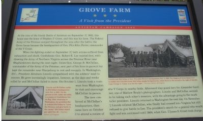 Grove Farm Marker image. Click for full size.