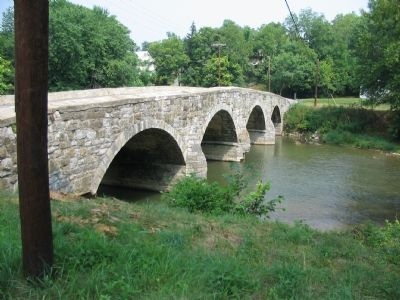 Bridge over Antietam Creek image. Click for full size.