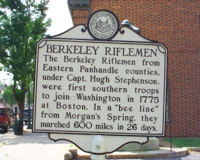 Berkeley Riflemen Face image. Click for full size.