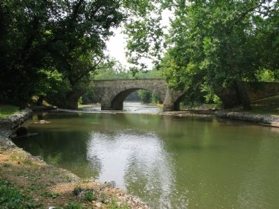 Booth's Mill Bridge over Antietam Creek image. Click for full size.