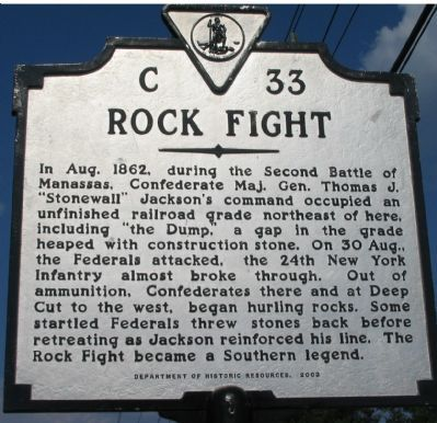 Rock Fight Marker image. Click for full size.