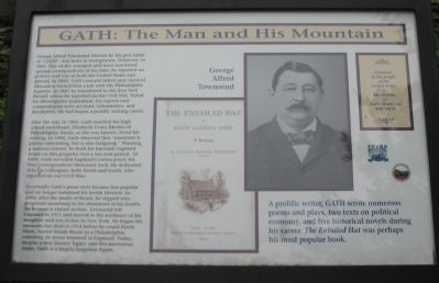 G<small>ATH</small>: The Man and His Mountain Marker image. Click for full size.