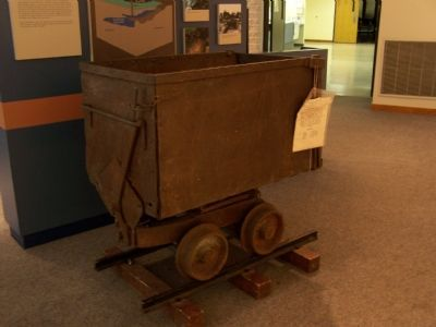 Mine Cart used to haul chromite. image. Click for full size.