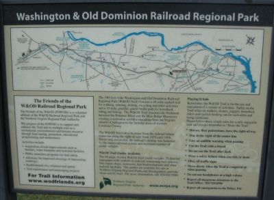 Washington and Old Dominion Railroad Regional Park image. Click for full size.