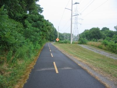 The W&OD Trail and Virginia Power Lines image. Click for full size.