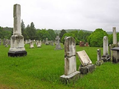 Indian Mound Cemetery image. Click for full size.