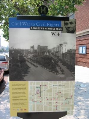 Civil War to Civil Rights Downtown Heritage Trail image. Click for full size.