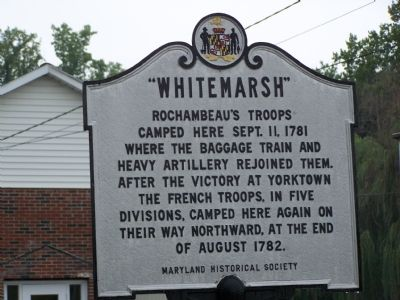 """Whitemarsh"" Marker image. Click for full size."