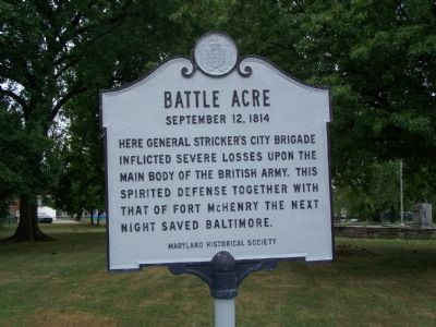 Battle Acre Marker image. Click for full size.