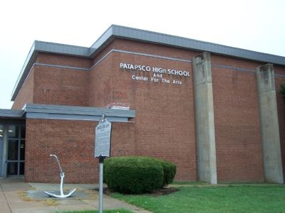 Patapsco High School image. Click for full size.