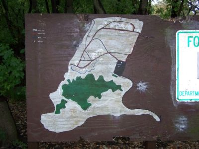 Map of Fort Howard State Park image. Click for full size.