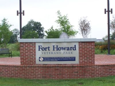 Fort Howard Veteran's Park Marker image. Click for full size.
