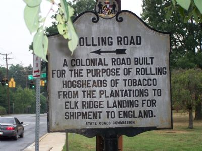 Rolling Road Marker image. Click for full size.
