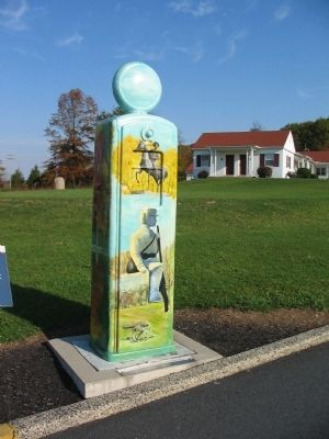 """Gas Pump"" Beside the Marker image. Click for full size."