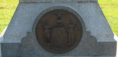 State Seal at Base of Monument image. Click for full size.