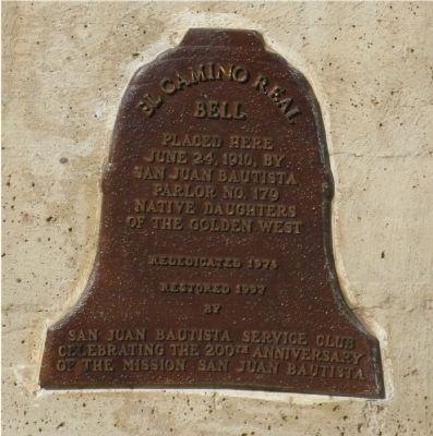 The Lower - El Camino Real Bell Marker image. Click for full size.
