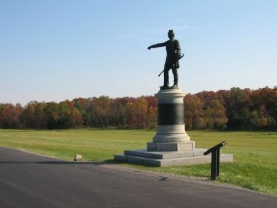 Brevet Major General James Samuel Wadsworth Monument image. Click for full size.