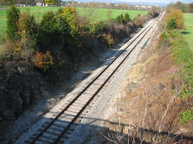 The Railroad Cut image. Click for full size.
