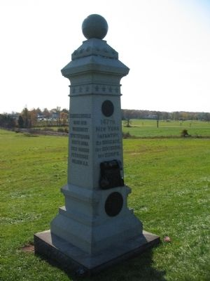 147th New York Infantry Monument image. Click for full size.