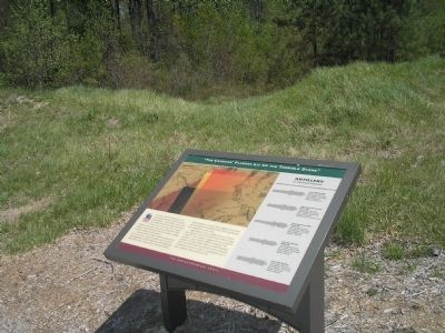 Marker on the Breakthrough Trail image. Click for full size.