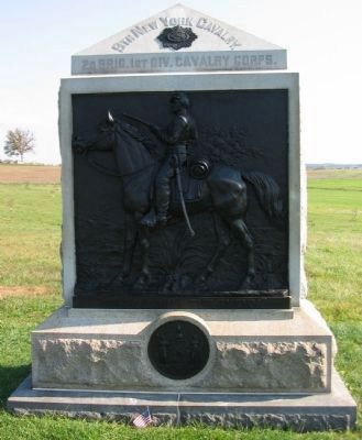 9th New York Cavalry Monument image. Click for full size.