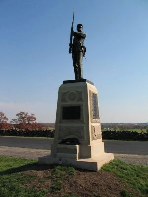 11th Pennsylvania Infantry Monument image. Click for full size.