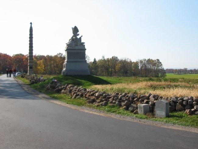 88th Pennsylvania Infantry Position image. Click for full size.