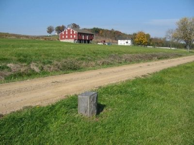 Position Marker and the McLean Farm image, Touch for more information