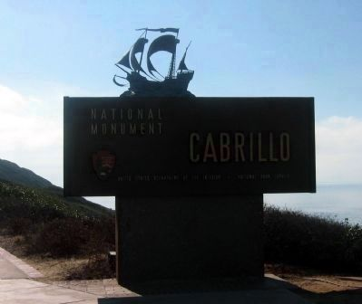 The Cabrillo National Monument Entrance image. Click for full size.