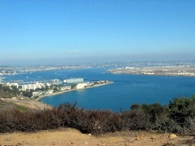San Diego Bay image. Click for full size.