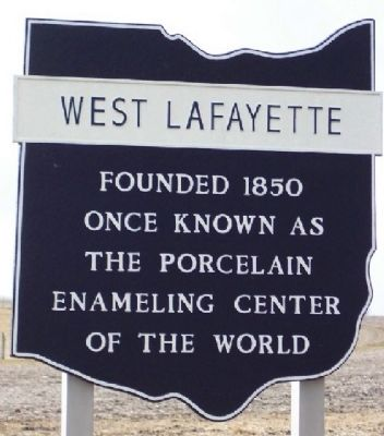 West Lafayette Corporate Limit Marker image. Click for full size.