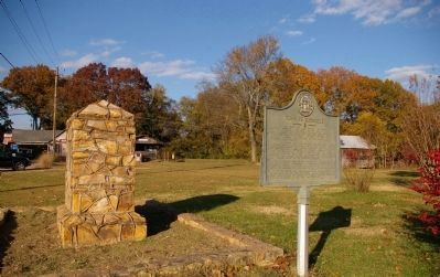 Site of Cassville Marker and the Town of Cassville Marker image. Click for full size.