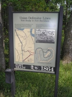 Union Defensive Lines Marker image. Click for full size.