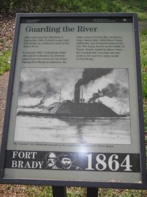 Guarding the River Marker image. Click for full size.