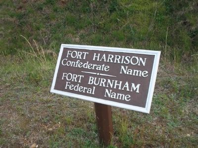 Fort Harrison / Burnham image. Click for full size.