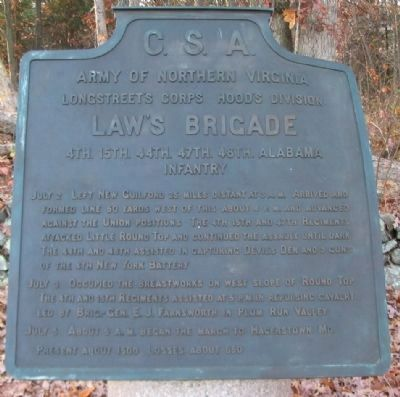 Law's Brigade Tablet image. Click for full size.