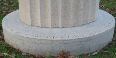 Inscription Around Base - Right Side image. Click for full size.